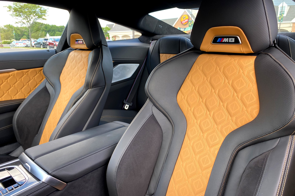 2020 BMW M8 Competition Coupe - Seats