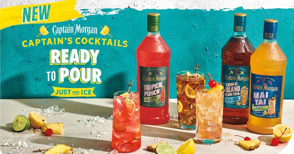 Captain's Cocktails - Ready To Pour