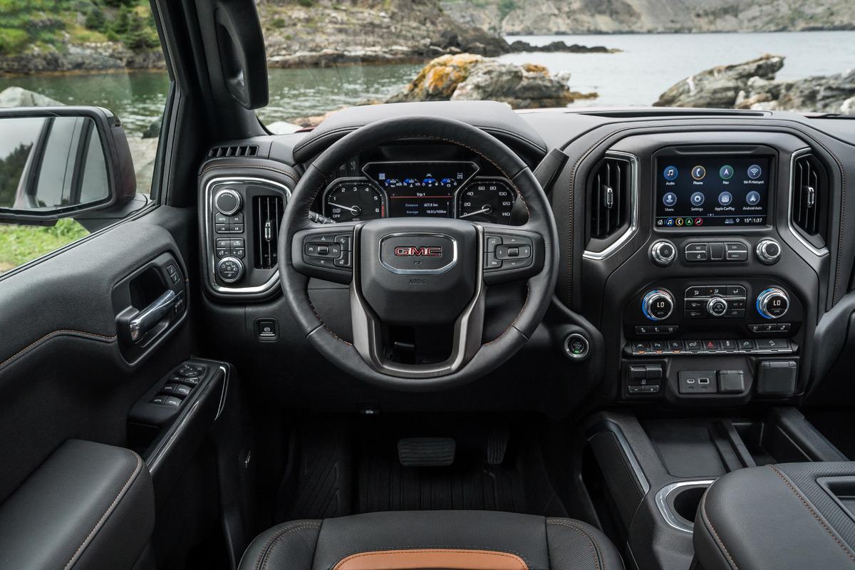 2020 GMC Sierra AT4 interior