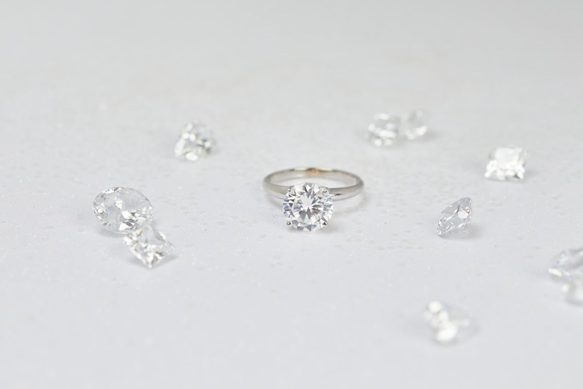 Clean Origin - Diamond Fluorescence