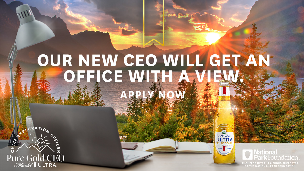 Michelob ULTRA Pure Gold CEO - Office With A View