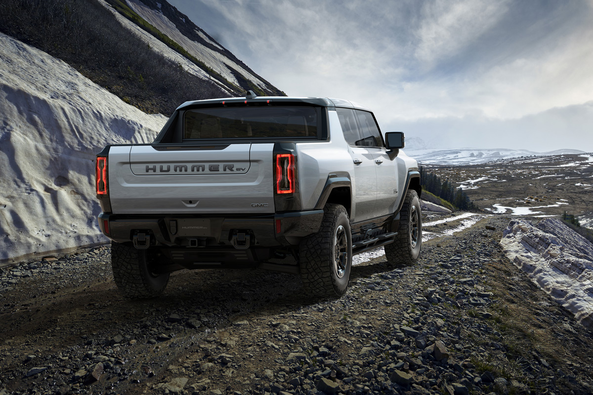 2022 GMC Hummer EV All-Electric Supertruck