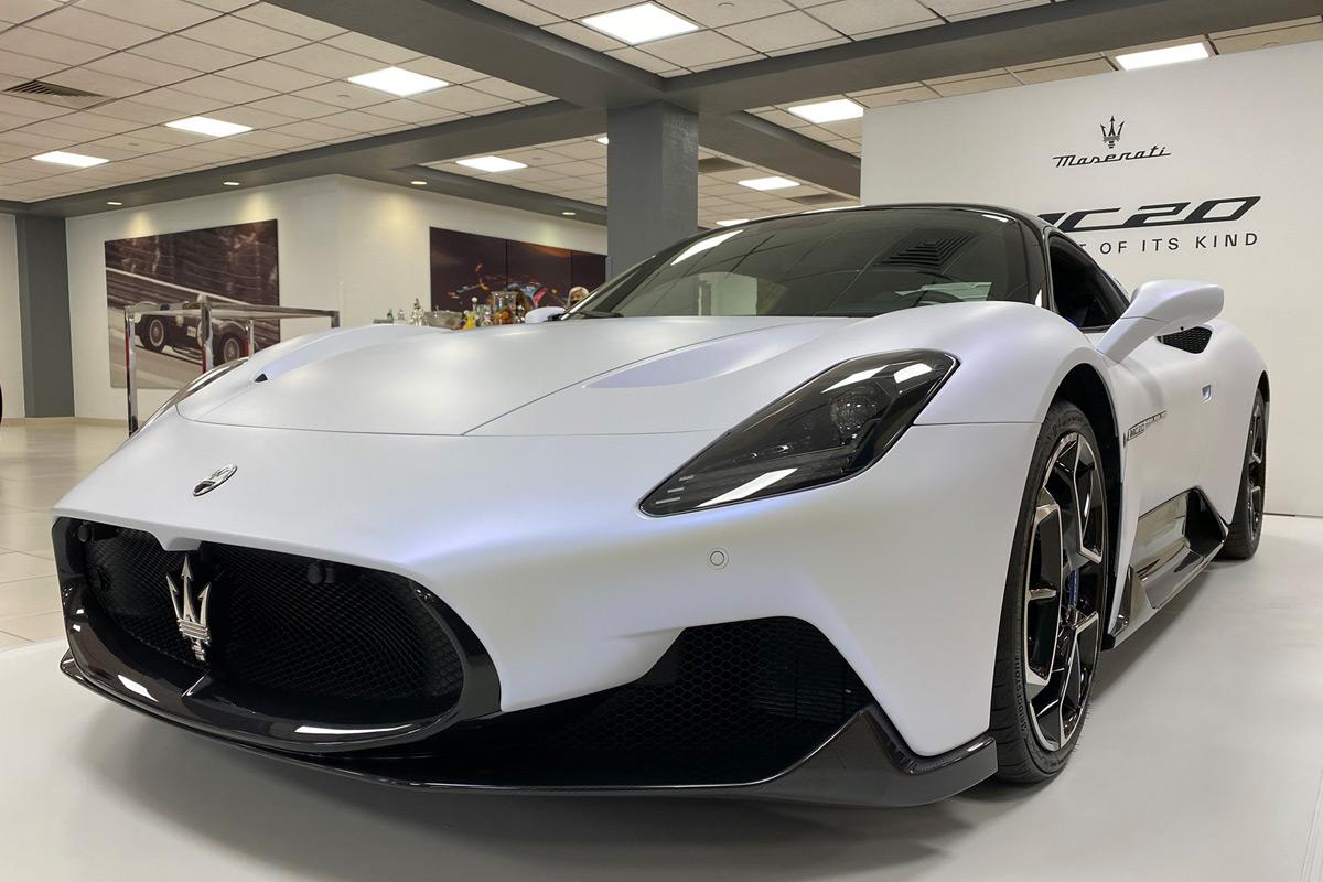 2022 Maserati MC20 - Front