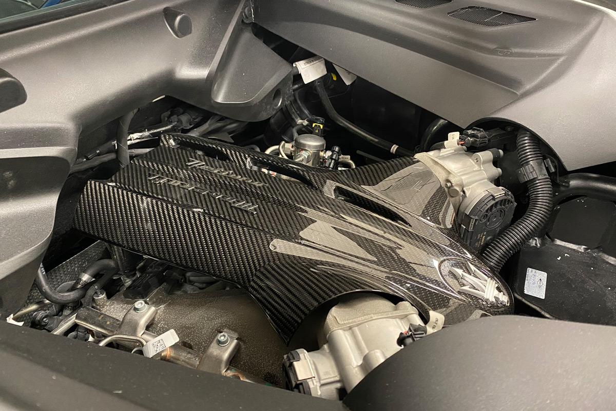 2022 Maserati MC20 - Engine