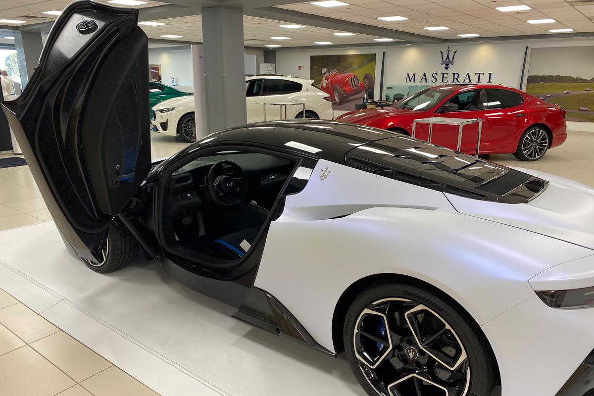 2022 Maserati MC20 - Butterfly Wing Door
