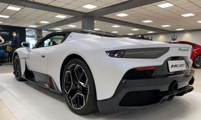 2022 Maserati MC20 - Rear