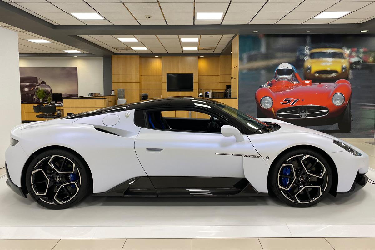 2022 Maserati MC20 - Side