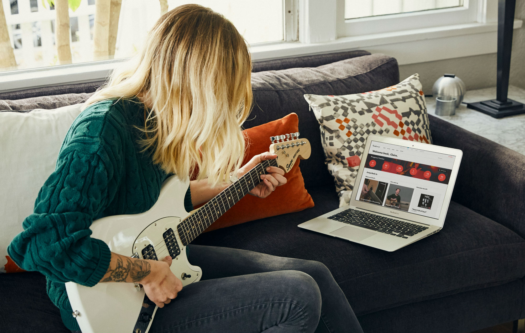 Fender Is Offering 3 Months Of Free Online Guitar Lessons