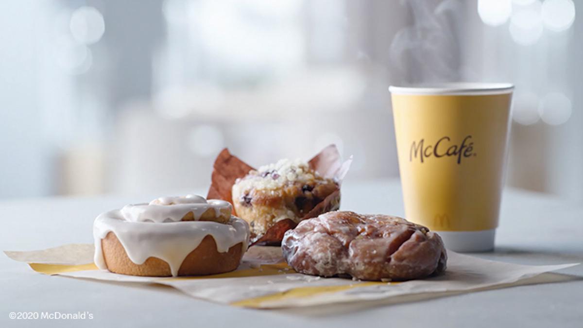 McDonalds McCafe Bakery Lineup