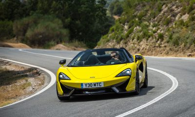 2020 McLaren 570S Spider in Sicilian Yellow