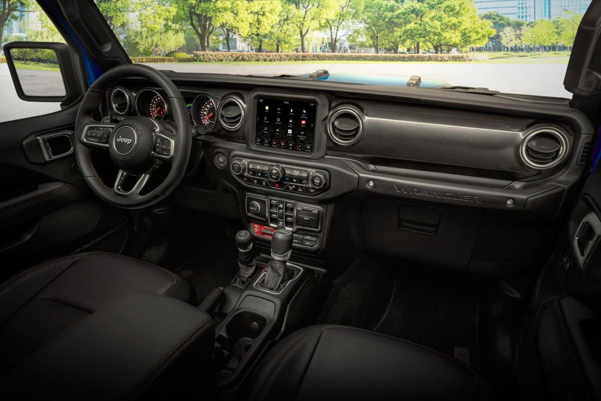 2021 Jeep Wrangler Rubicon 392 interior