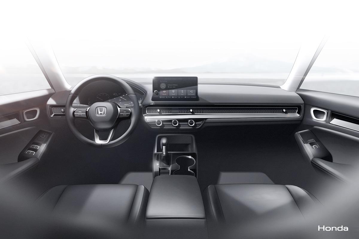 2022 Honda Civic Prototype - Interior