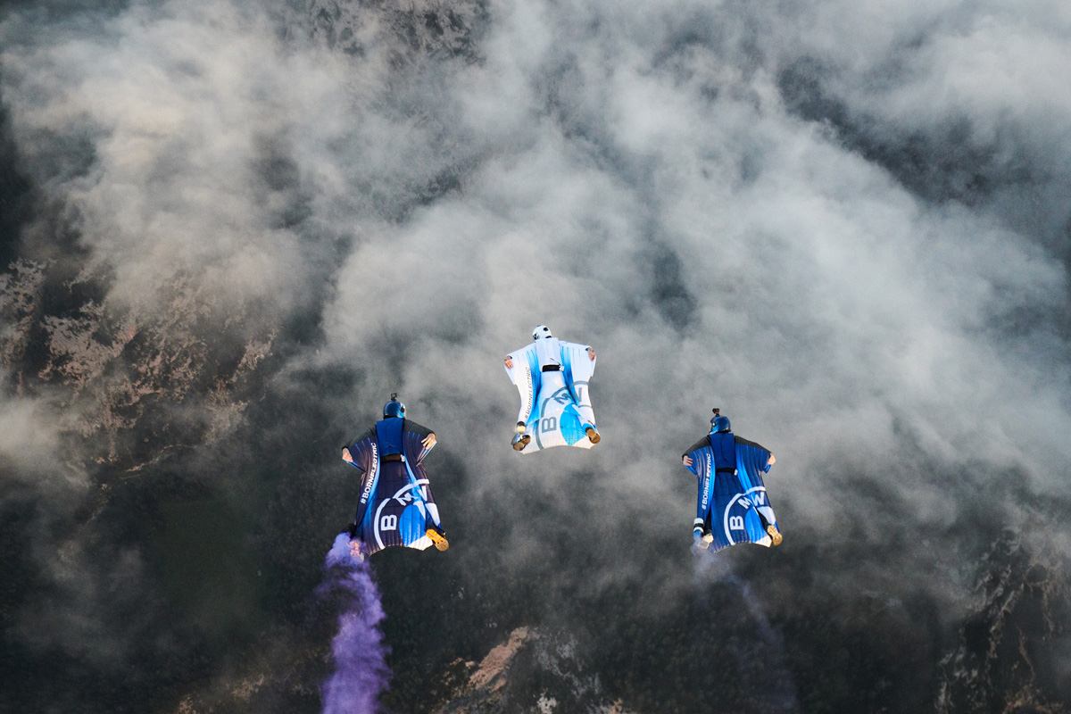 BMW - The Electrified Wingsuit
