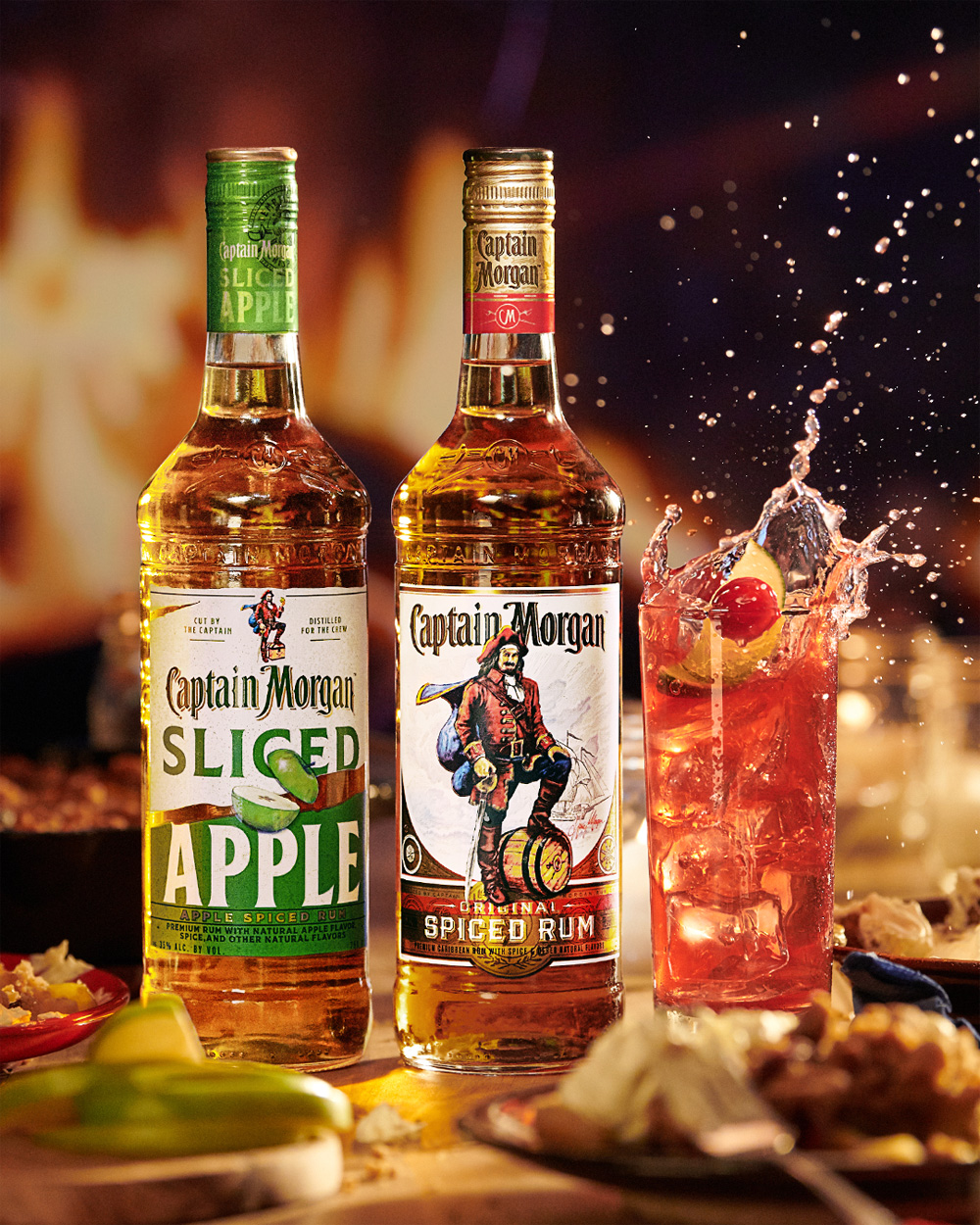 Captain Morgan Holiday Spiced and Sliced