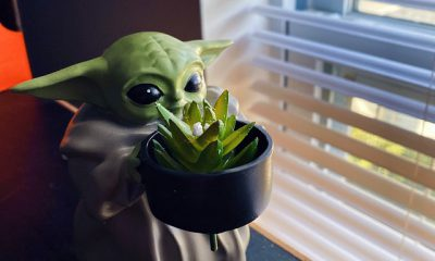 Mini Baby Yoda Pot Planter