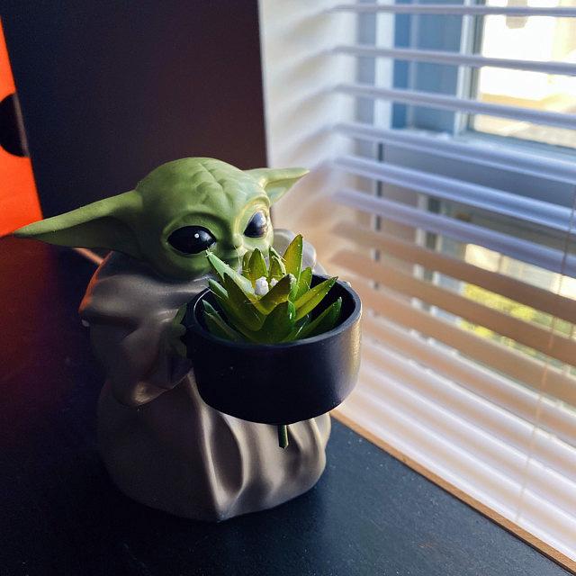 Mini Baby Yoda Pot Planter