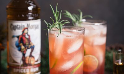 Captain Morgan Cranberry Mule