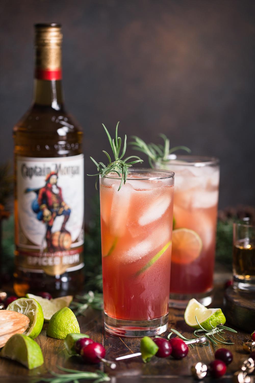 Captain Morgan Cranberry Mule