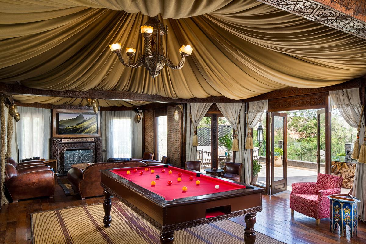 Kasbah Tamadot- Asmoun Lounge Interior