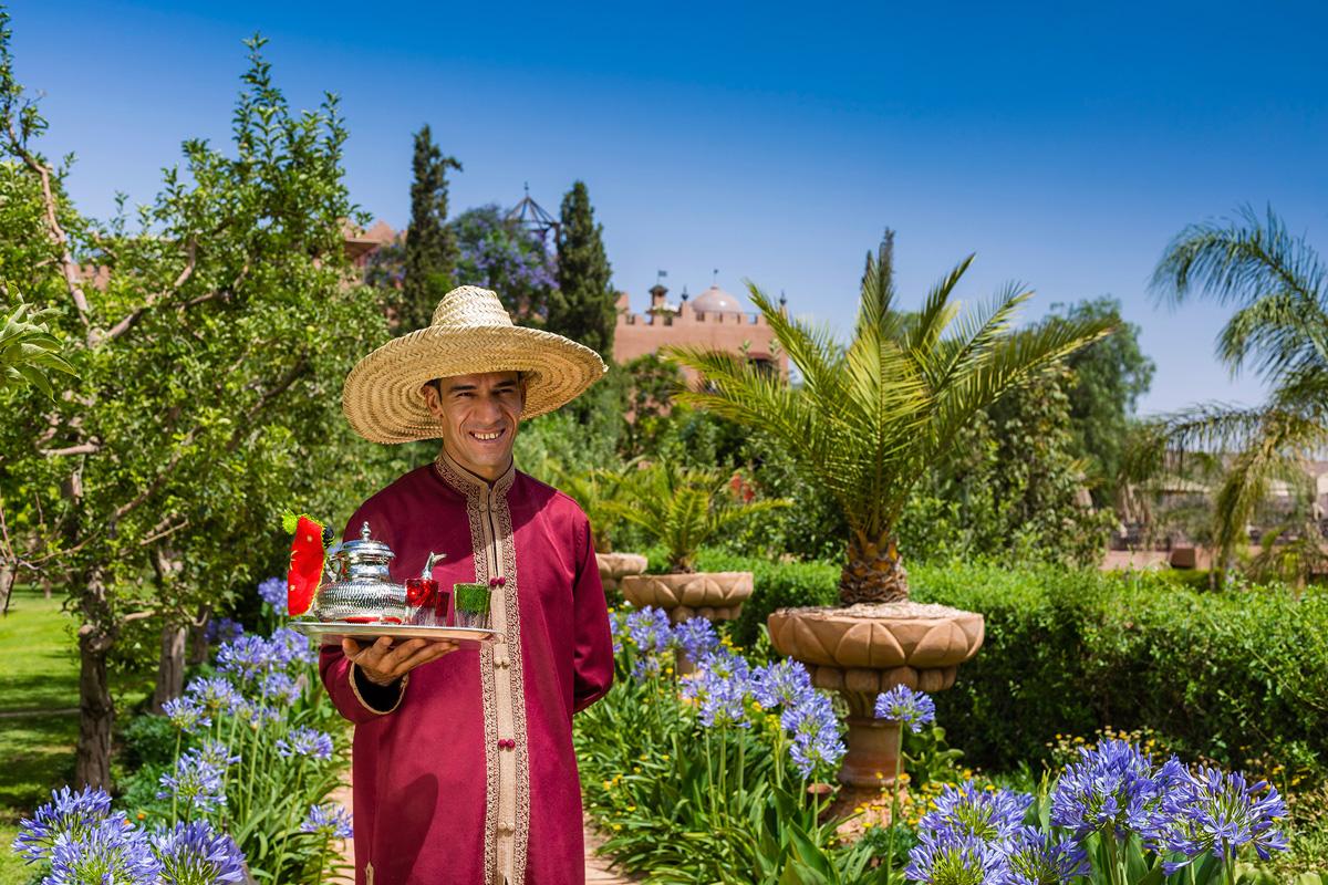 Kasbah Tamadot - Moroccan Tea
