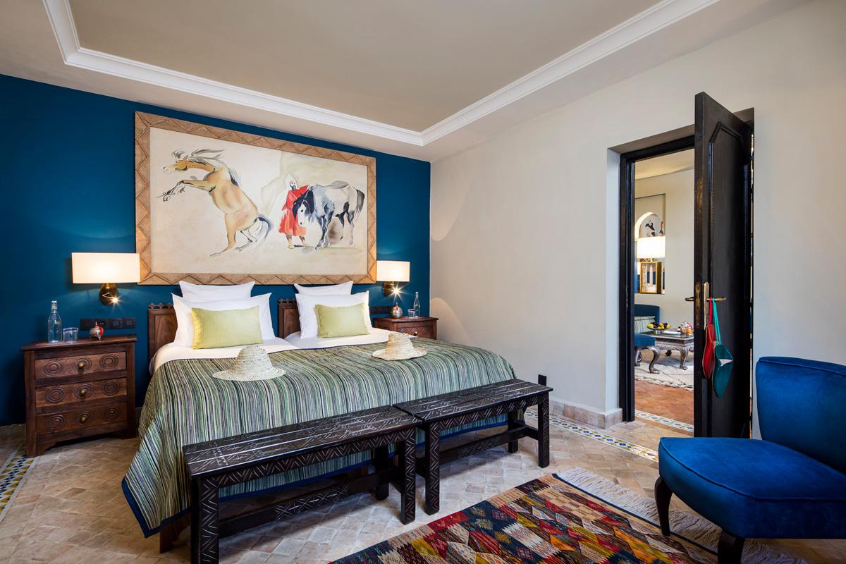 Kasbah Tamadot - Superior Suite Bedroom