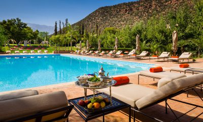 Kasbah Tamadot - Swimming Pool