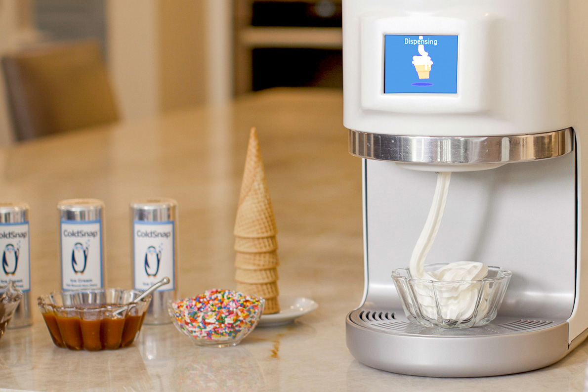 ColdSnap Ice Cream Maker