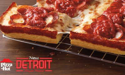 Pizza Hut Detroit-Style Pizza