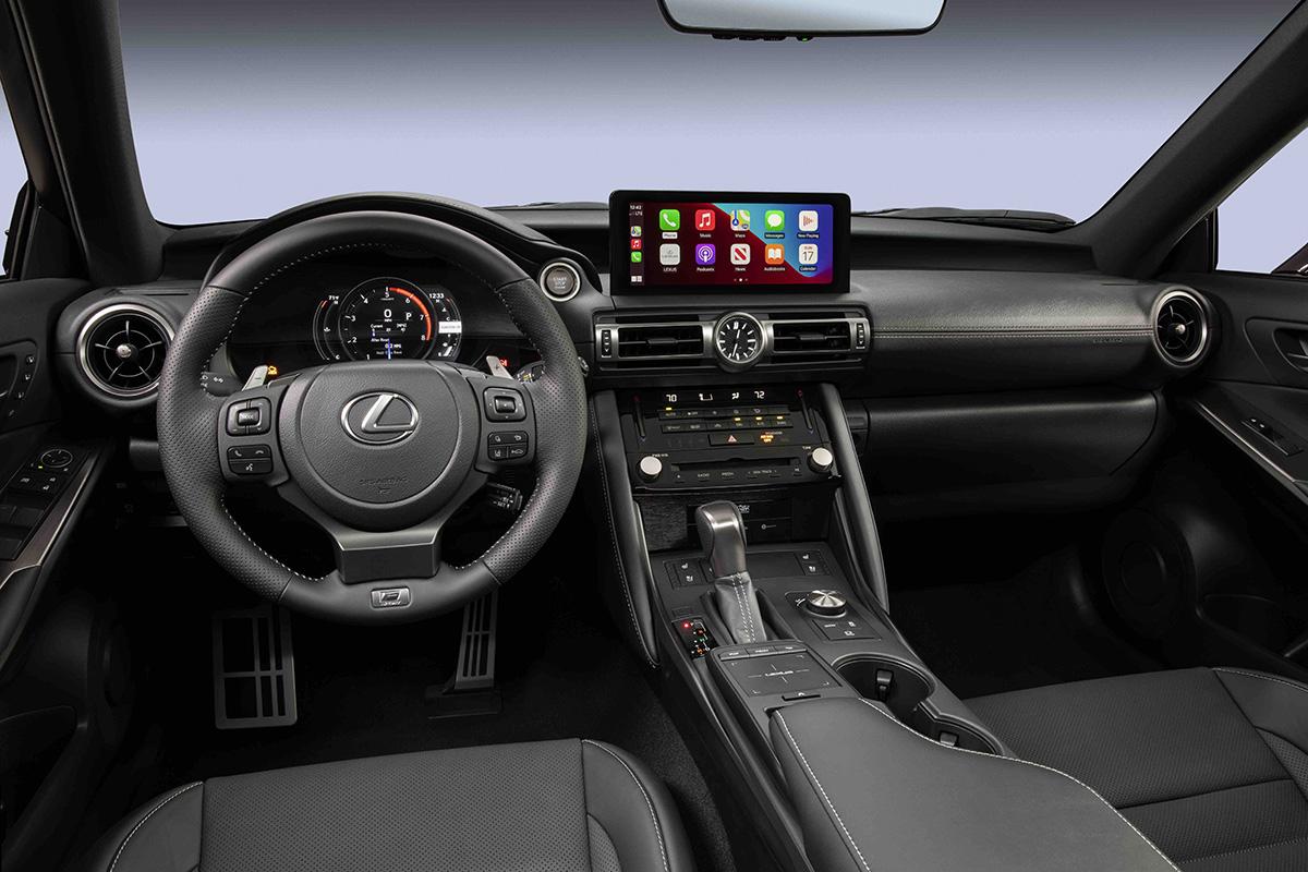 2022 Lexus IS 500 F-SPORT Performance interior