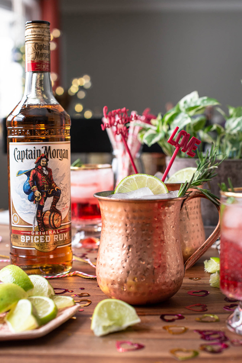 Captain Morgan Sugar and Spice Mule recipe