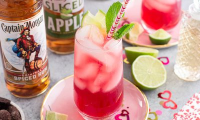 Captain Morgan V-Day Spiced and Sliced recipe