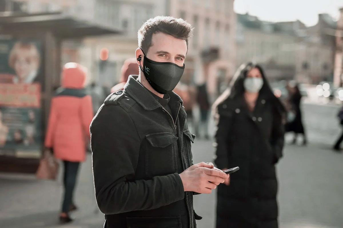 MaskFone Bluetooth face mask