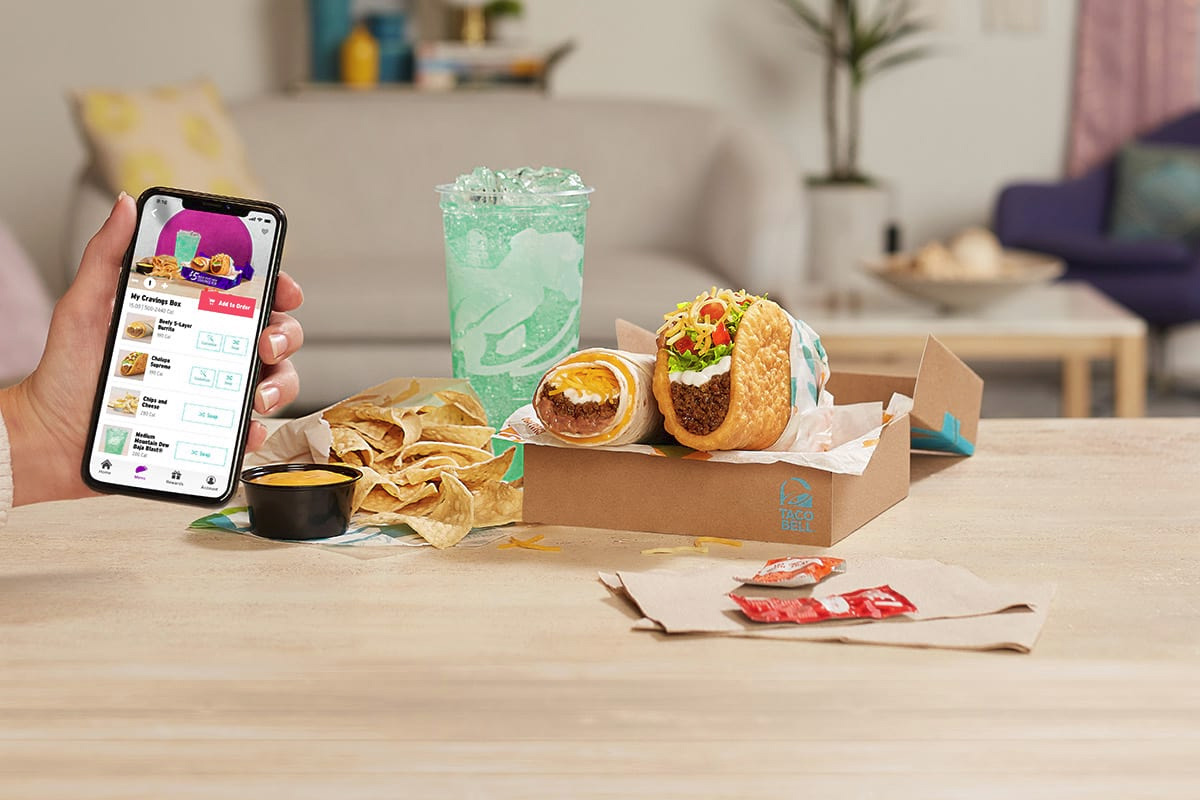 Taco Bell $5 Build Your Own Cravings Box