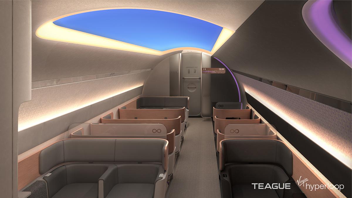 Virgin Hyperloop Passenger Experience