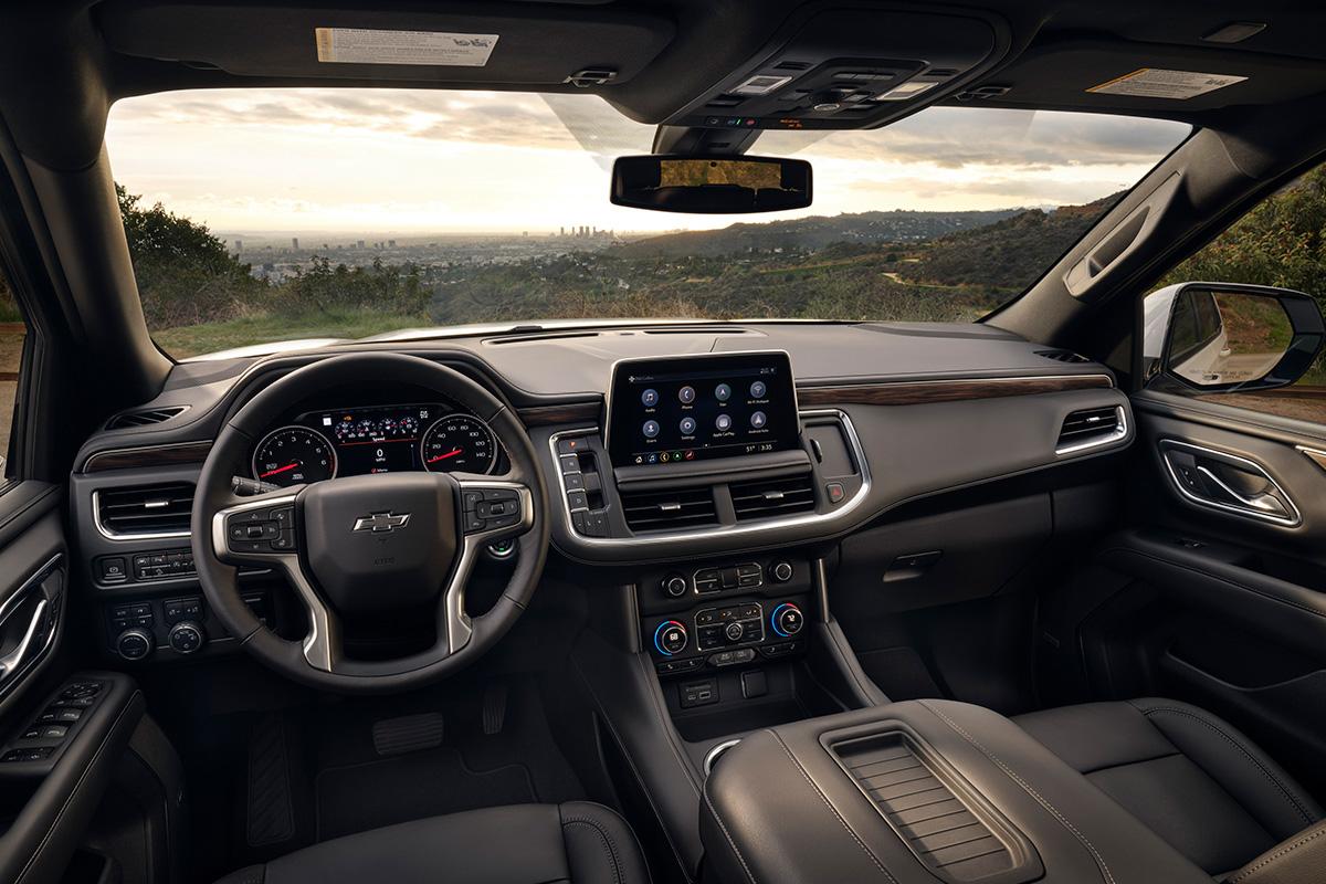 2021 Chevrolet Tahoe Z71 interior