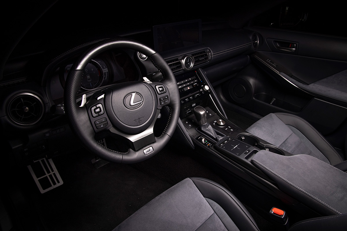 2022 IS 500 F SPORT Performance Launch Edition interior