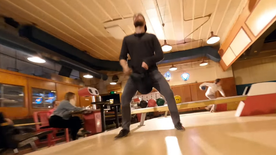 Right Up Our Alley - Drone Bowling Video