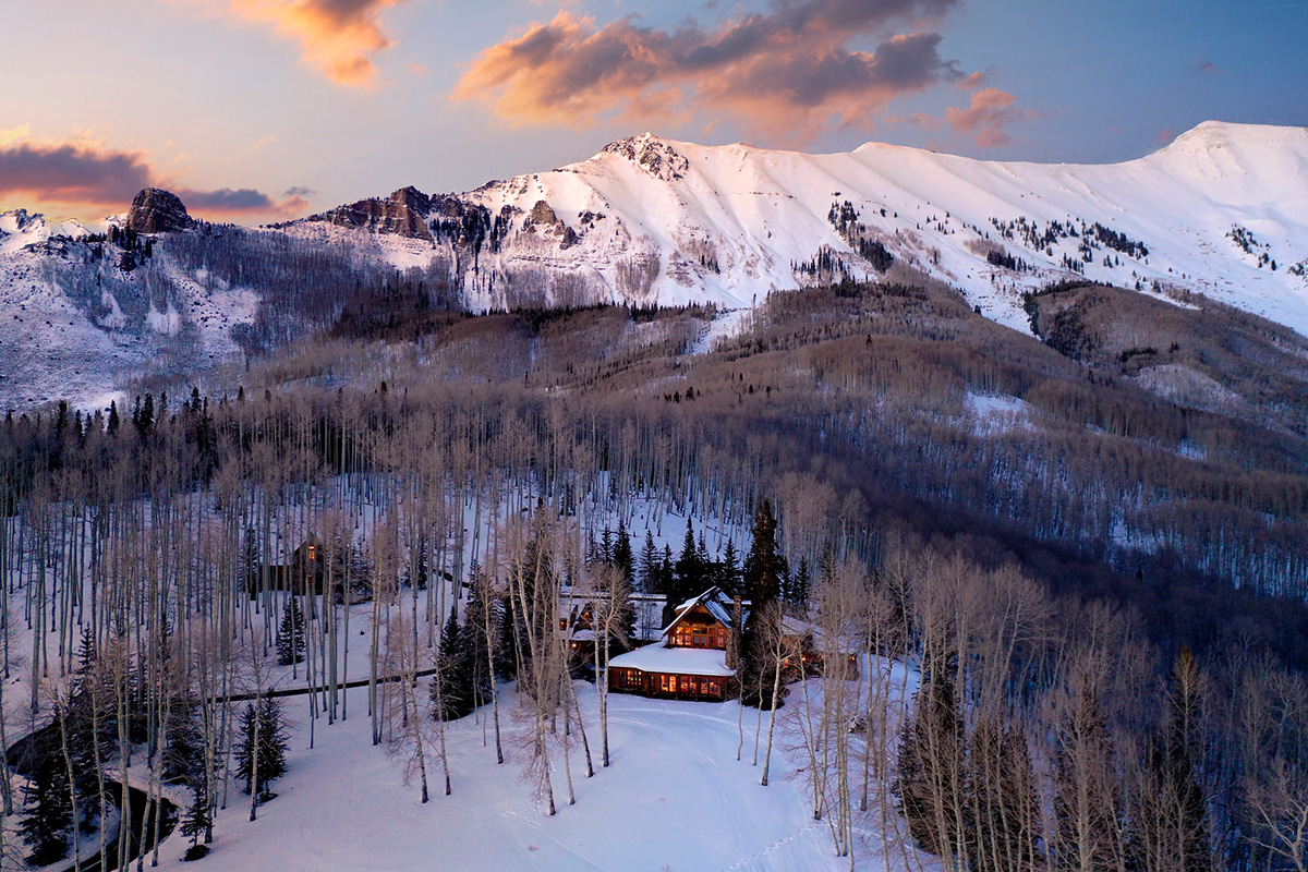 Tom Cruise's Colorado Mountain Ranch