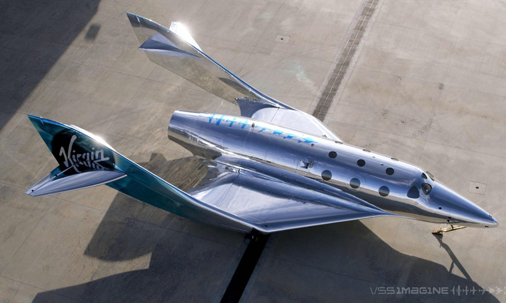Virgin Galactic VSS Imagine spaceship