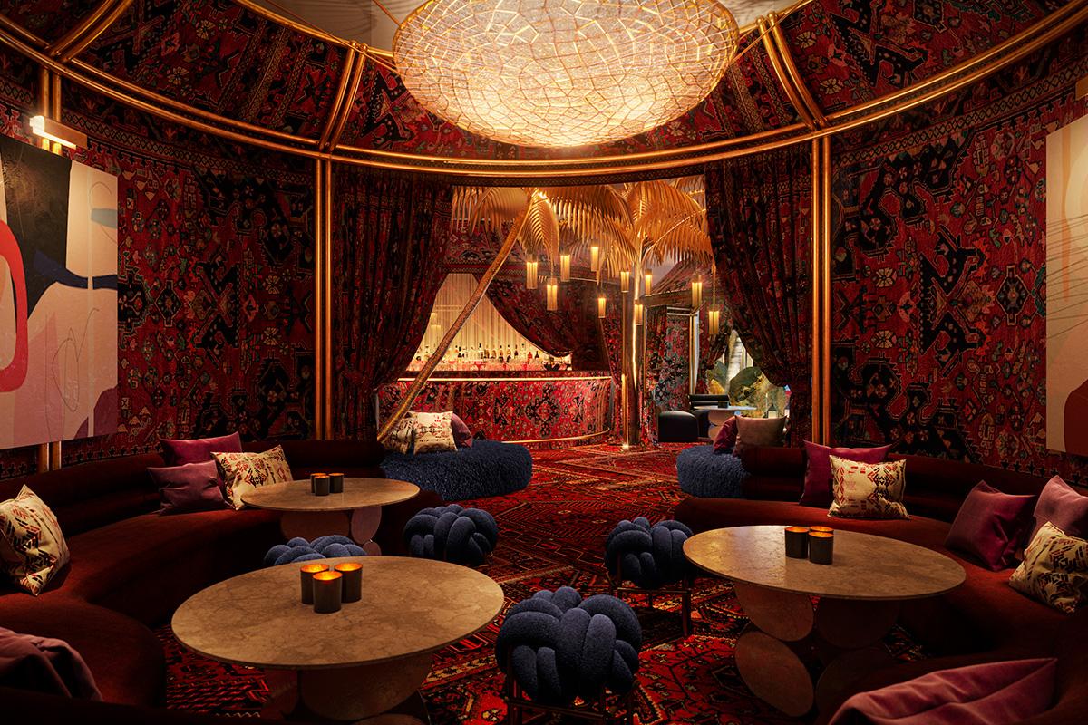 Virgin Hotels Las Vegas - The Shag Room
