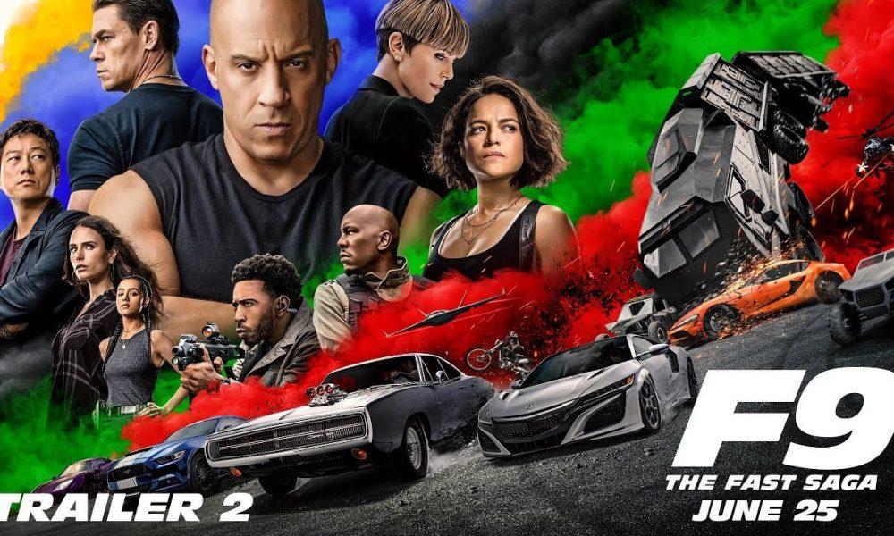 F9 The Fast Saga trailer