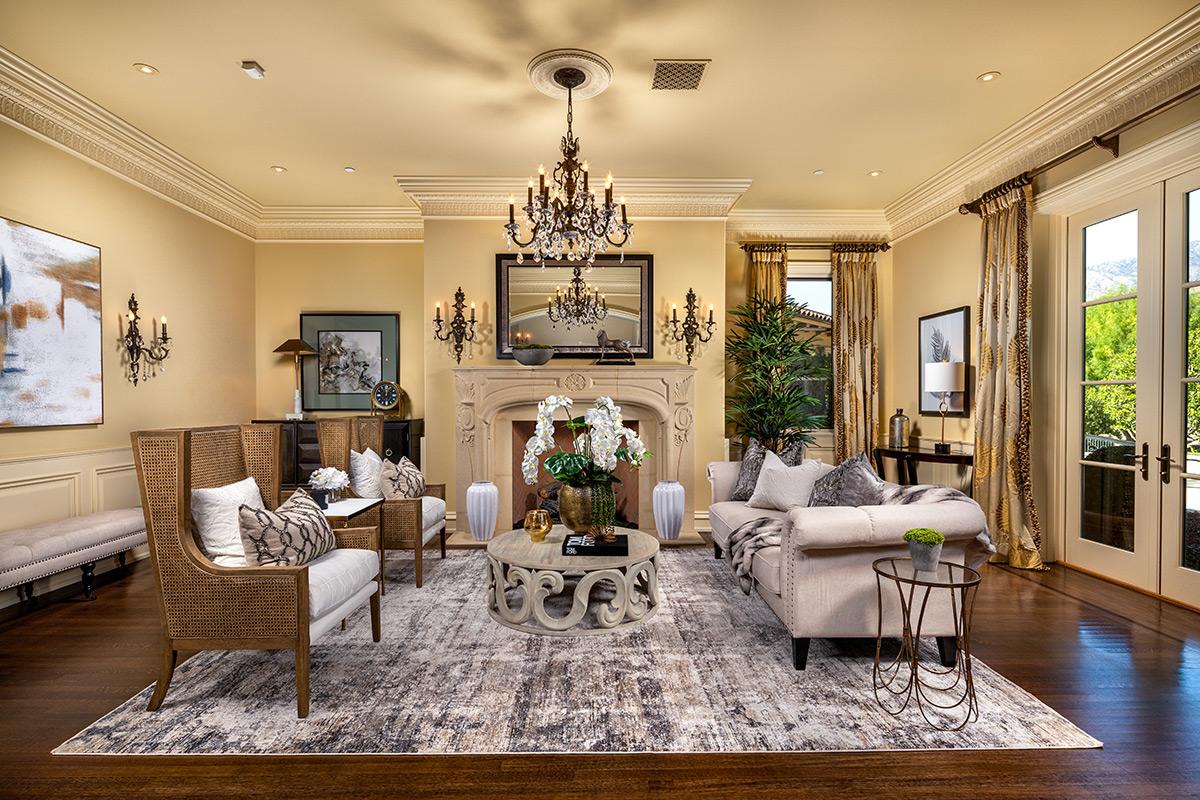 In-N-Out Mansion - Formal Living Room