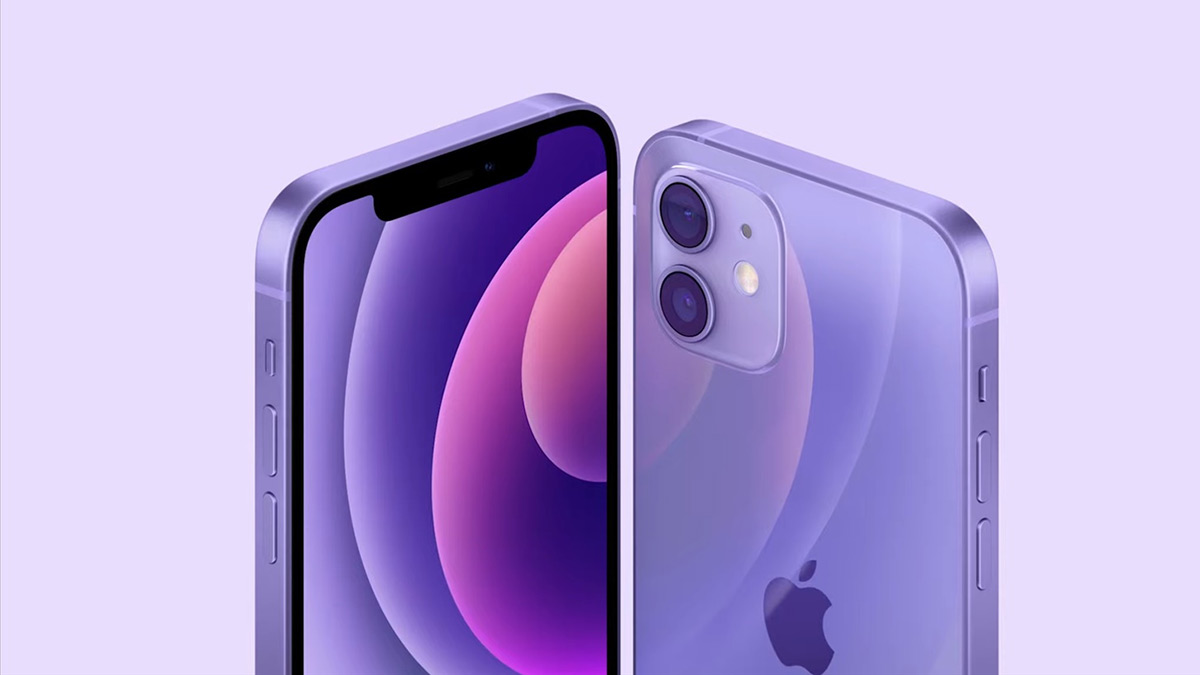 Apple iPhone 12 in Purple