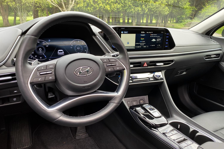 2021 Hyundai Sonata Limited interior