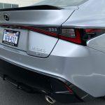 2021 Lexus IS 350 F SPORT taillights