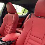 2021 Lexus IS 350 F SPORT seats