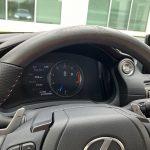 2021 Lexus IS 350 F SPORT ash wood steering wheel