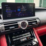 2021 Lexus IS 350 F SPORT infotainment screen