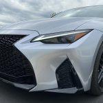 2021 Lexus IS 350 F SPORT headlights