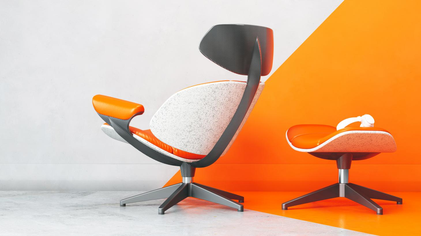 Callum Designs Eames Lounge Chair